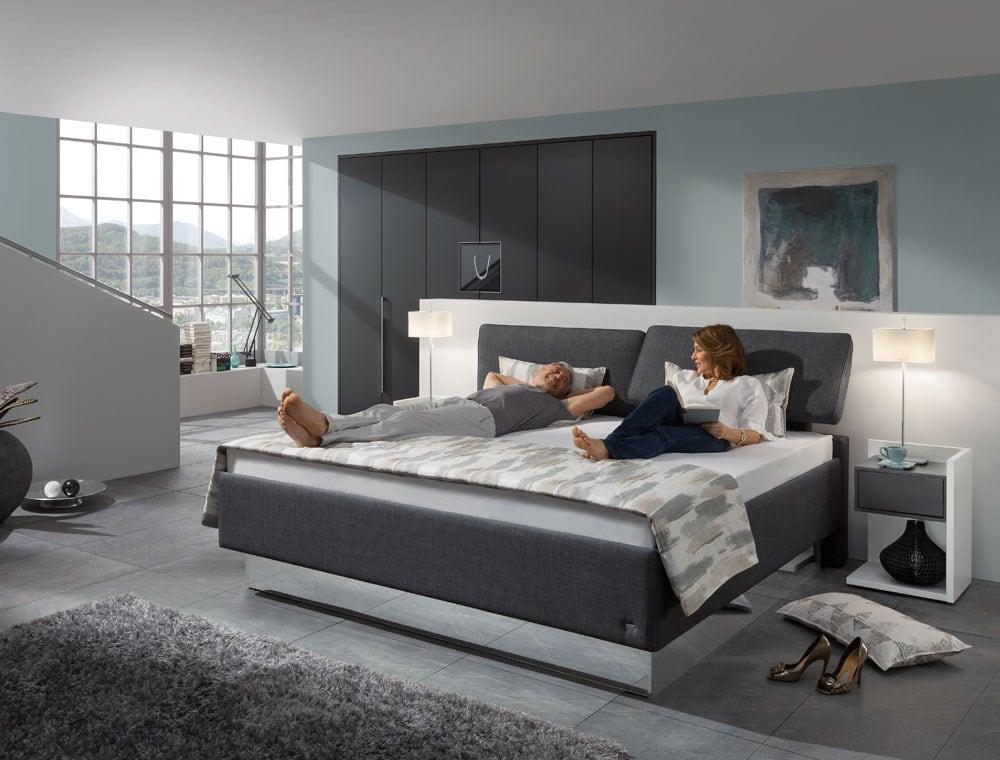 komfort bett composium m bel wiemer in soest. Black Bedroom Furniture Sets. Home Design Ideas