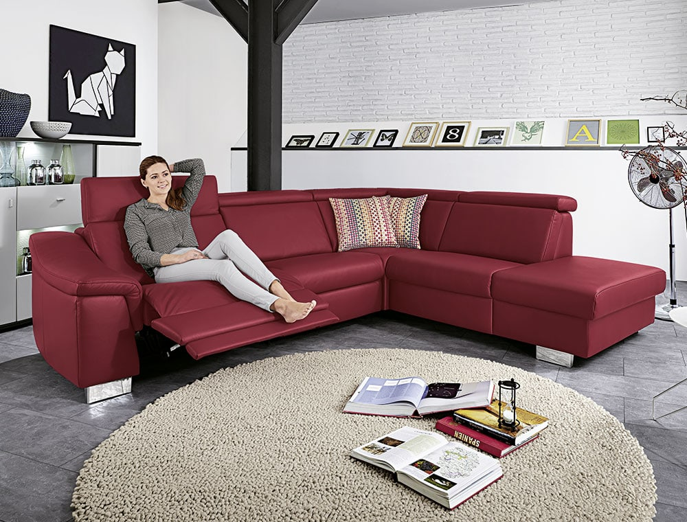 polstergarnitur clou m bel wiemer gmbh co kg. Black Bedroom Furniture Sets. Home Design Ideas