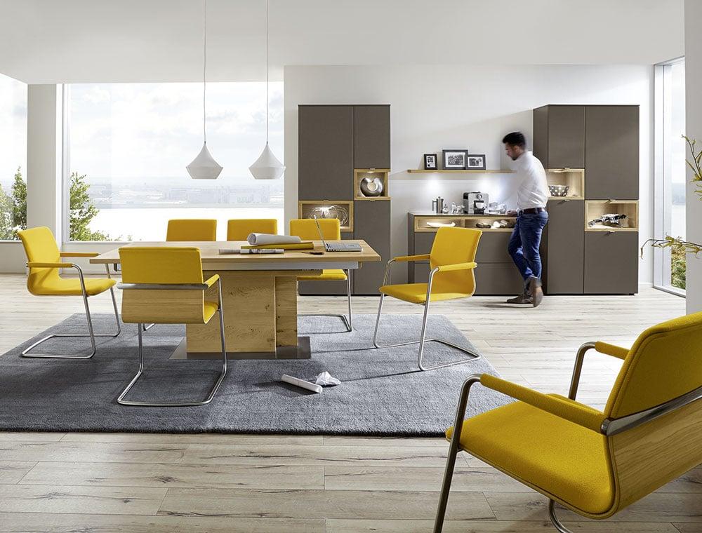 speisezimmerprogramm andiamo m bel wiemer in soest. Black Bedroom Furniture Sets. Home Design Ideas