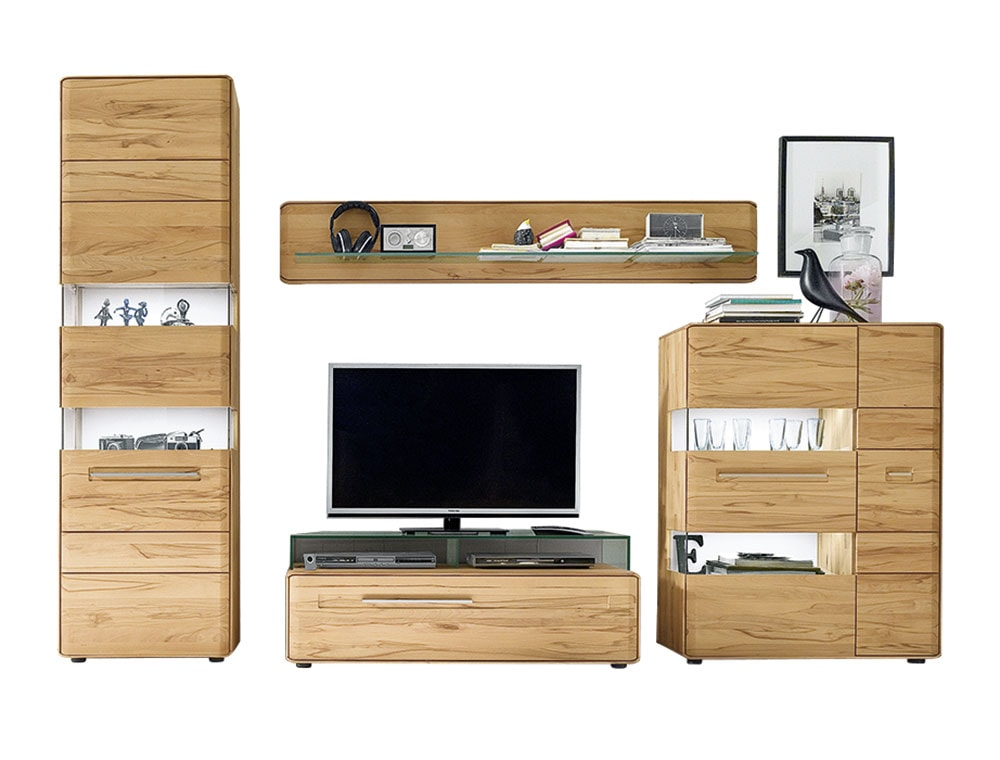 moderne wohnkombination m bel wiemer gmbh co kg. Black Bedroom Furniture Sets. Home Design Ideas