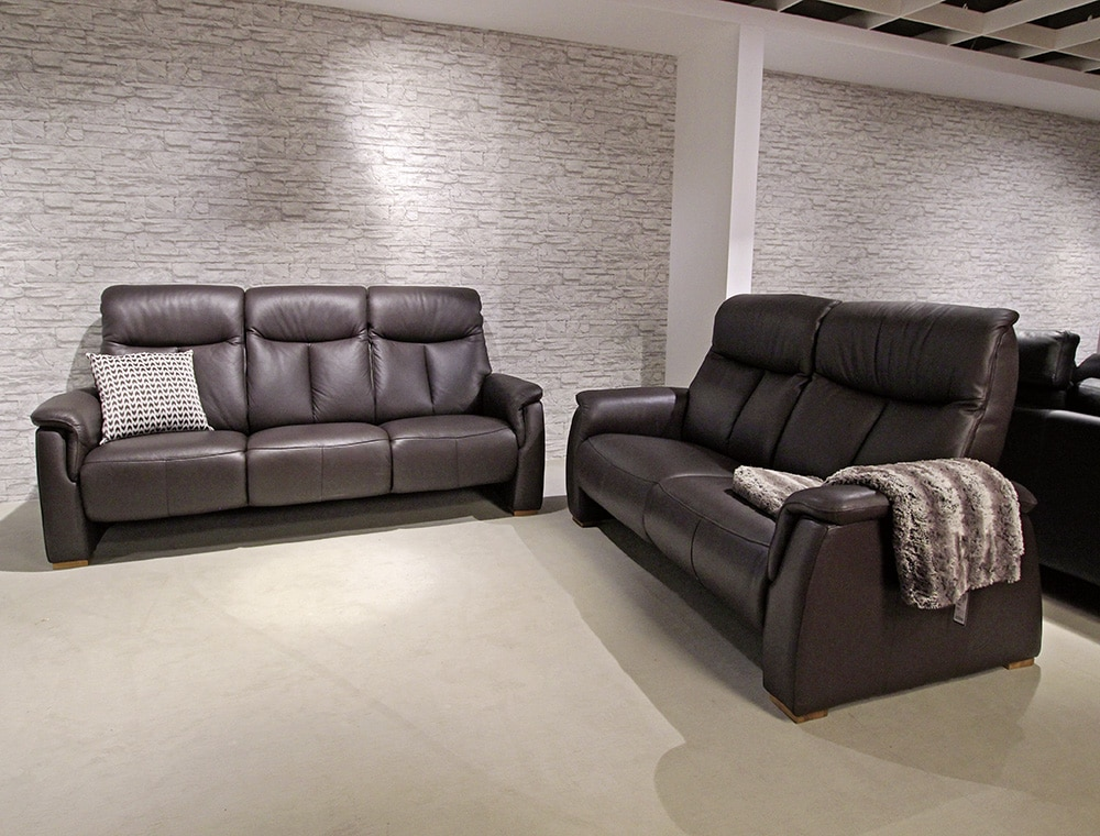 ledergarnitur m bel wiemer gmbh co kg. Black Bedroom Furniture Sets. Home Design Ideas